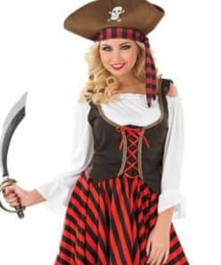 Ladies Pirate themed costumes