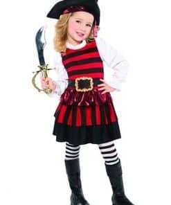 Little Lass Pirate Child Costume