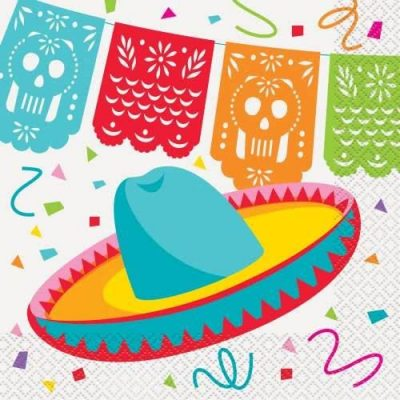 Mexican Fiesta Party Lunch Napkins