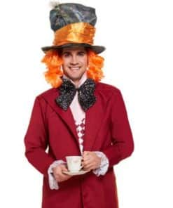 Mens Mad Hatter Alice in Wonderland Themed Costumes