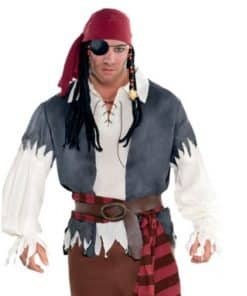 Mens Pirate Themed Costumes