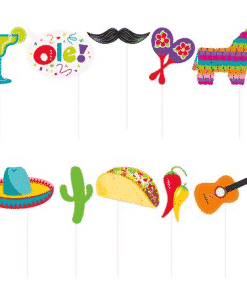 Mexican Fiesta Party Photo Booth Props