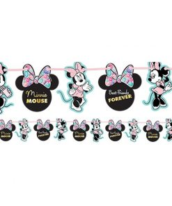 Minnie Gem Party Paper Garland Kit