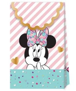Minnie Gem Party Paper Party Bags
