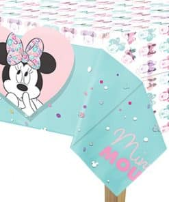Minnie Party Gem Plastic Table Cover
