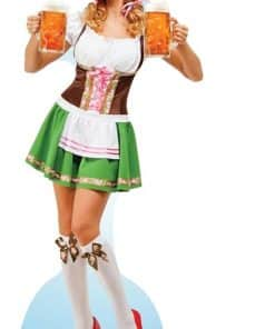 Oktoberfest Beer Babe Cardboard Cutout