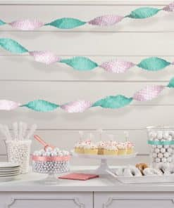 Pastel Fringe Garland Decoration
