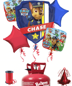 Paw Patrol Balloon Decorating Kit Including Helium