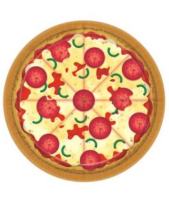 Pizza Party Paper Plates