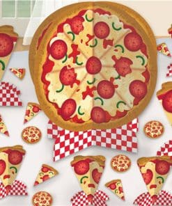 Pizza Party Table Centerpiece Pack