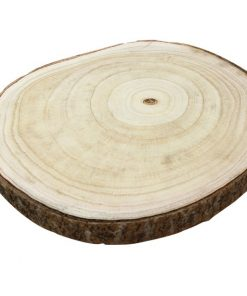 Rustic Country Wooden Slice Centerpiece