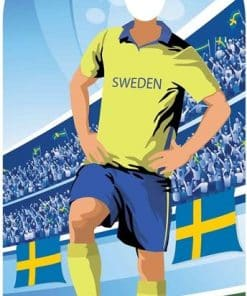 Sweden Football Stand In