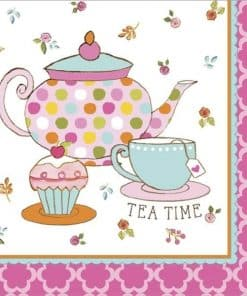 Afternoon Tea Time Party Paper Lunch Napkins