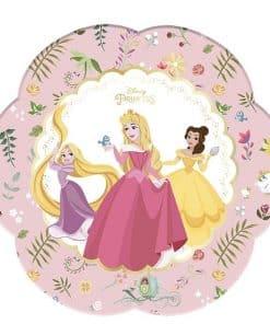 True Princess Party Flower Shaped Plates