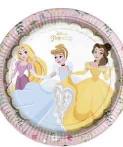 True Princess Party Paper Plates