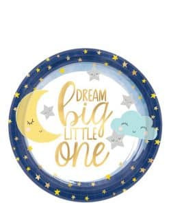 Twinkle Little Star Baby Shower Party Paper Dessert Plates