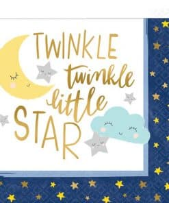 Twinkle Little Star Baby Shower Party Paper Napkins