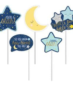 Twinkle Little Star Baby Shower Party Photo Booth Props