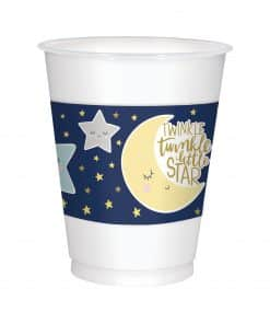 Twinkle Little Star Baby Shower Party Plastic Cups