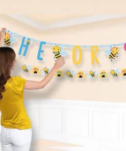 What Will It Bee? Baby Shower Combo Letter Banners