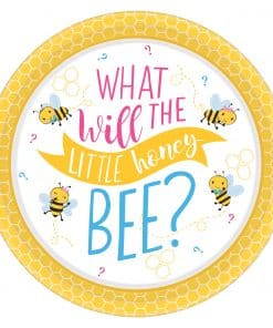 What Will It Bee Paper Plates
