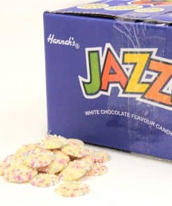 White Jazzies Chocolates Bulk Box