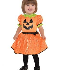 Baby Pumpkin Dress Costume