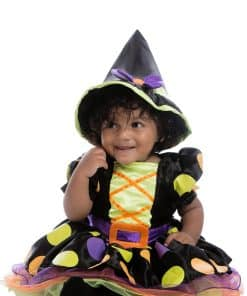 Halloween Witch Baby Costume