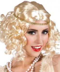 Blonde 1920's Wig with Headband