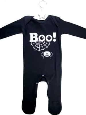 """BOO!"" Romper Baby Costume"