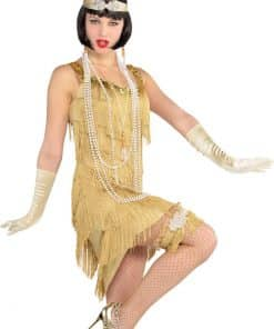 Champagne Gold Flapper Costume