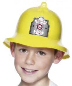 Childrens Yellow Fireman Hat