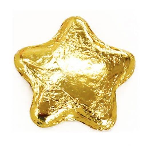 Gold Chocolate Stars
