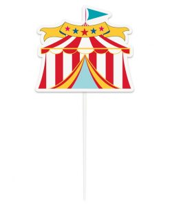 Circus Carnival Party Cake Topper