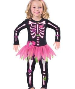 Fancy Bones Skeleton Costume