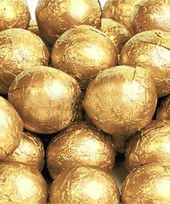 Gold Chocolate Balls