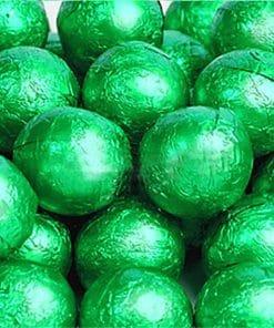 Green Chocolate Balls