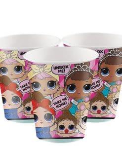 L.O.L Surprise Party Paper Cups