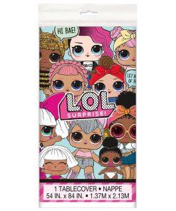 L.O.L Surprise Party Plastic Tablecover