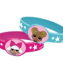 L.O.L Surprise Party Rubber Bracelets