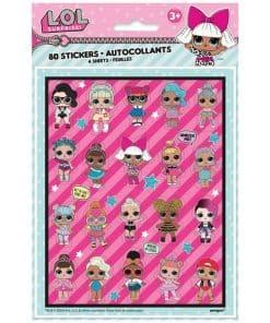 L.O.L Surprise Party Stickers