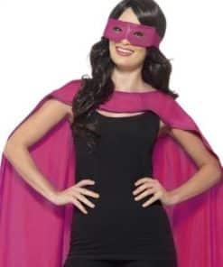 Pink Cape & Mask