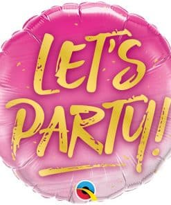 'Let's Party' Balloon