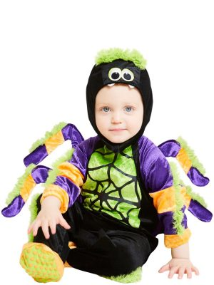 Little Spooky Spider Baby Costume