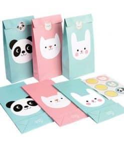Miko The Panda Party Panda, Bunny & Cat Party Bags