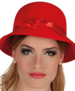 Red Charleston Lady Hat