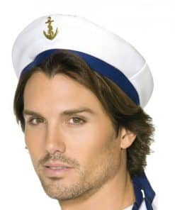 Sailor hat with ribbon 1