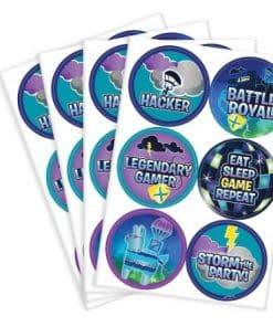 Fortnite Sticker Sheets