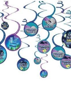 Fortnite Swirl Decorations
