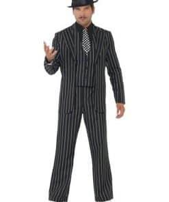 Vintage Gangster Boss Suit Costume